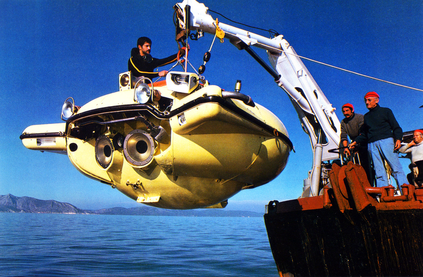 Jacques Cousteau Submarine