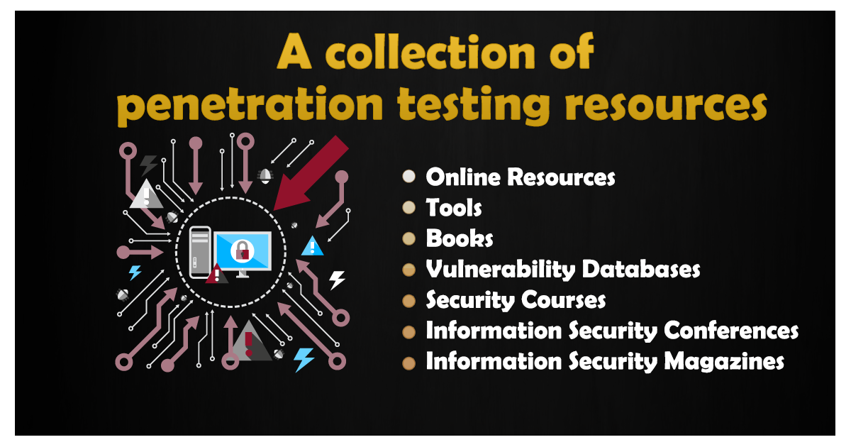 GitHub - wtsxDev/Penetration-Testing: List of awesome penetration testing resources, tools and other shiny thingswtsxDev/Penetration-Testing - 웹
