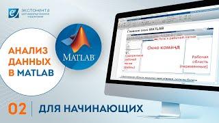 Анализ данных в MATLAB: 02. Для начинающих