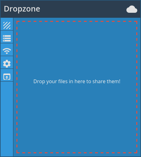 Dropzone screenshot