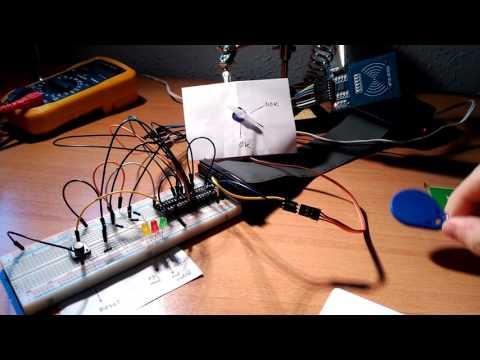 Raspberry Pi NFC tag reader