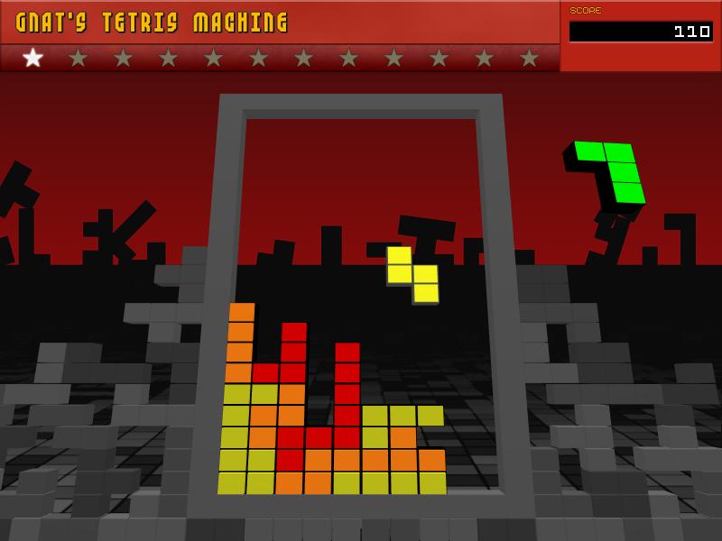 Gnat's Tetris Machine Screenshot 1