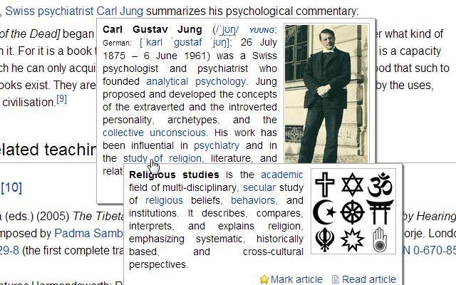 Wikipedia quick hints