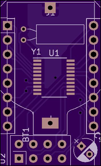GitHub - TG9541/nrf24stm8l: KiCad project: STM8L051F3P6