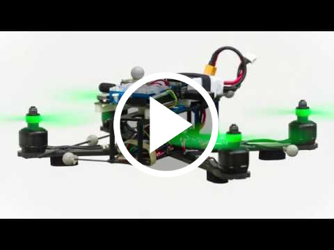 ICRA 2018 Video Teaser: Differential Flatness of Quadrotor Dynamics Subject to Rotor Drag