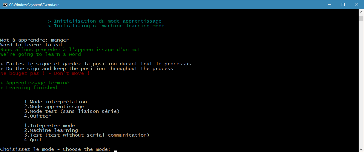 CLI Learning