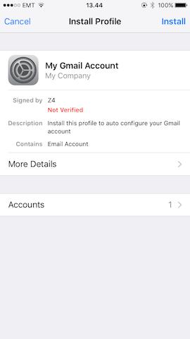 GitHub - andris9/mobileconfig: Create and sign iOS