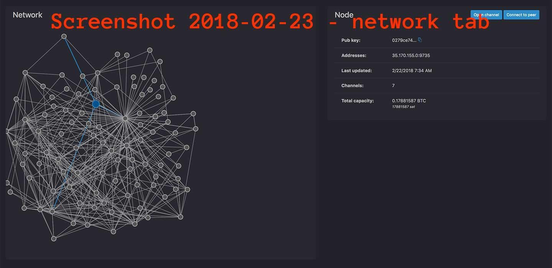 lndexplorer network tab
