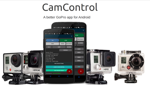 GitHub - msaelices/goprohero-1: A better GoPro app for Android, with