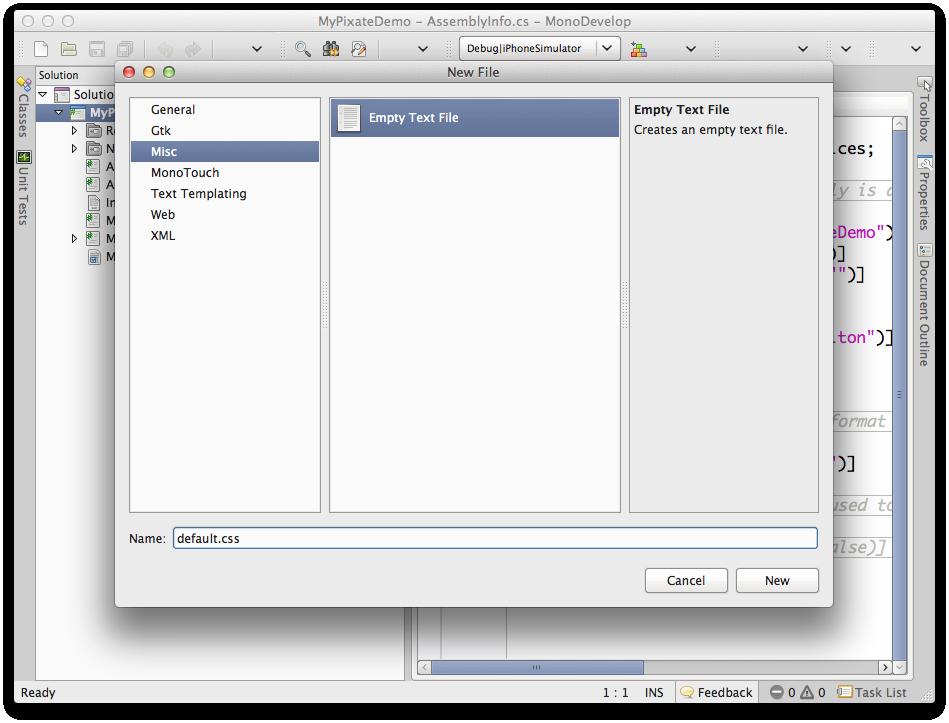 Add CSS File