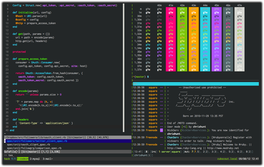 16 best vim color-schemes as of 2019 slant.