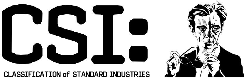 Classification of Standard Industry