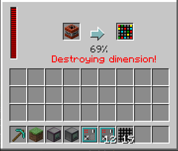 rftools how to delete dimensions