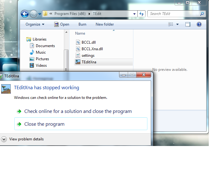 Instant crash when trying to run on windows 7 · Issue #343