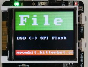GitHub - KittenBot/uf2-meowbit: bootloader for meowbit based on