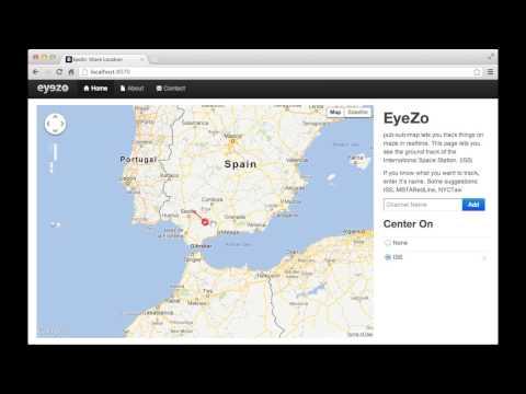 Demo: pub-sub-map