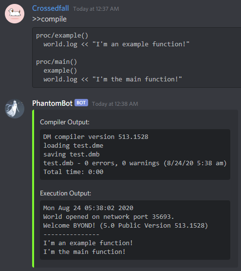 advanced compile