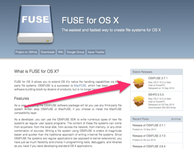 Installing OSX FUSE (for Mac OS X) · Issue #177 · ipfs/go
