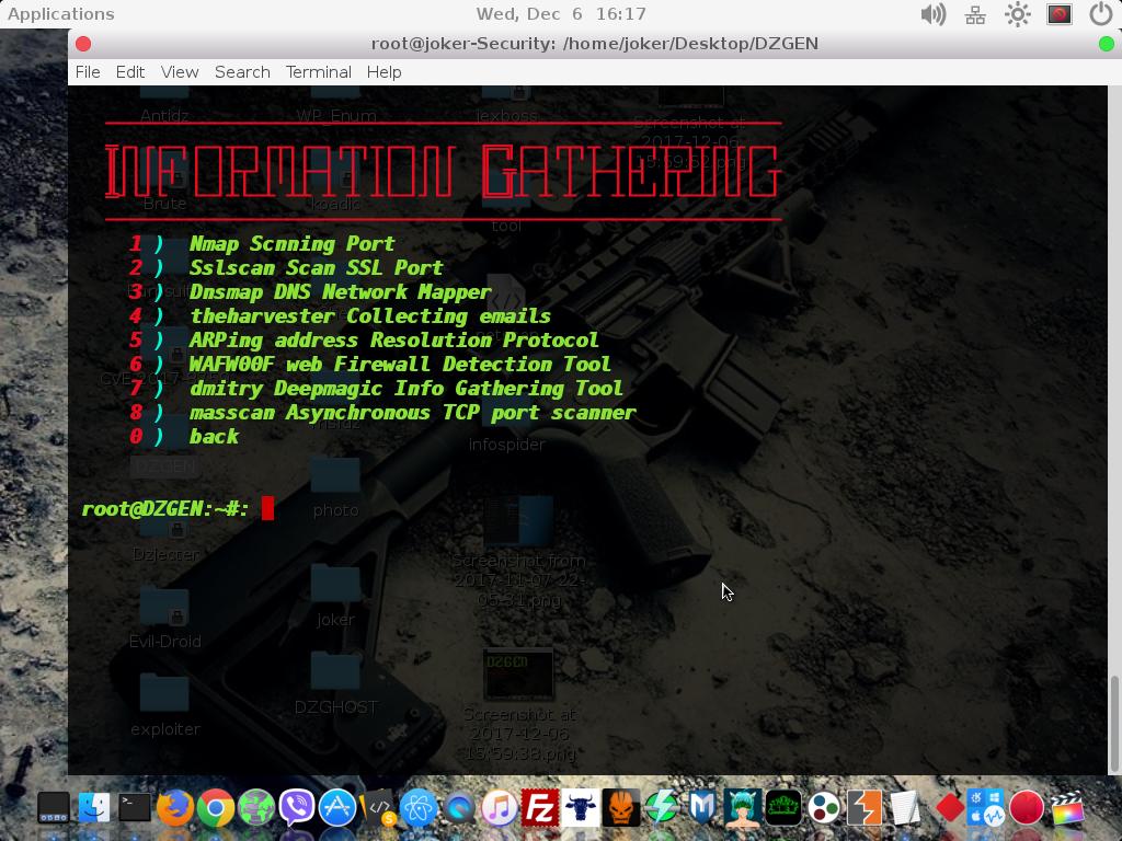GitHub - joker25000/DZGEN: 🏗 DZGEN - Works with Kali Linux tools