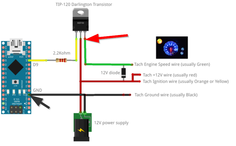 Arduino after market tach support · zegreatclan simhub