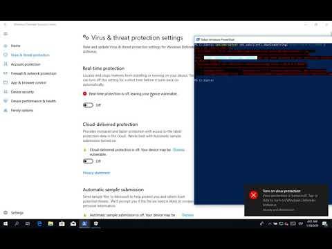 iBombShell - AMSI & Windows Defender Bypass