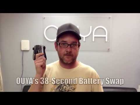 OUYA - 38 Second Battery Swap