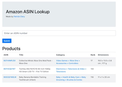 Amazon ASIN Checker