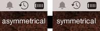 Icon comparison