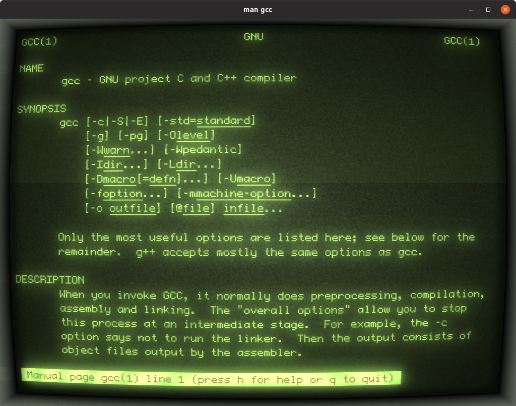 GitHub - Swordfish90/cool-retro-term: A good looking terminal