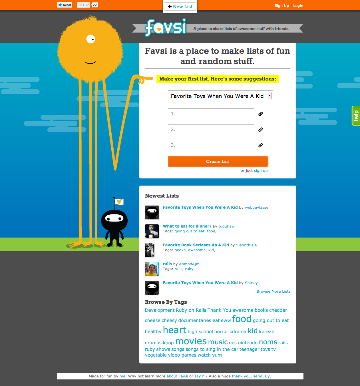 Favsi Screenshot