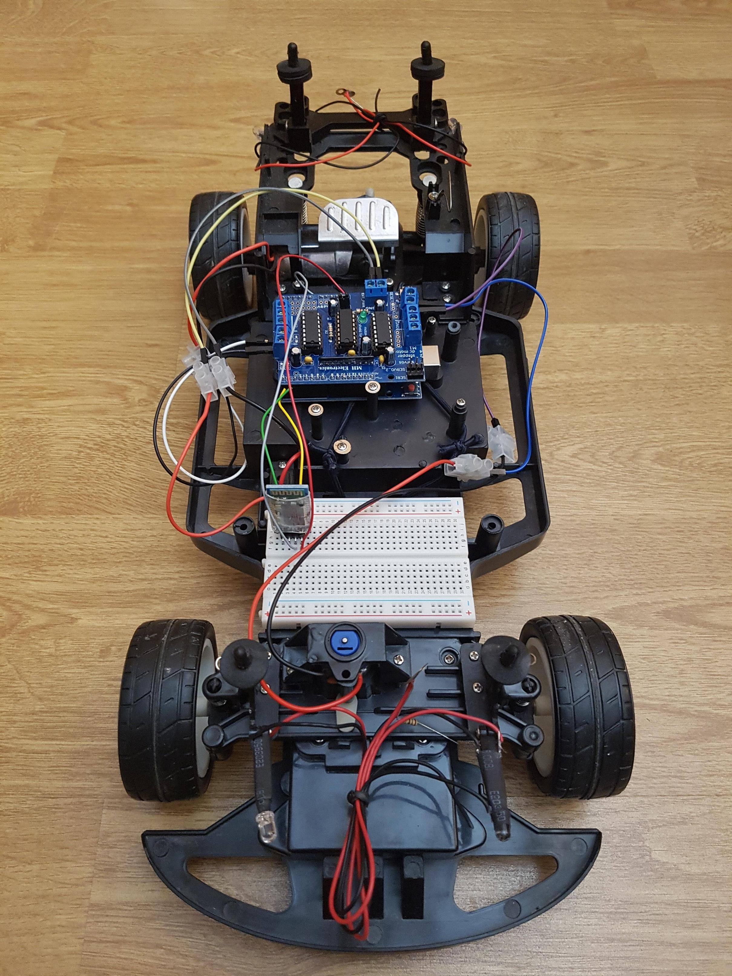 GitHub - danielgospodinow/Dancho-s-RC-Car: [C/Java] Arduino-based RC Car