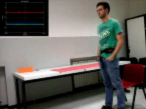 Video of the experiment