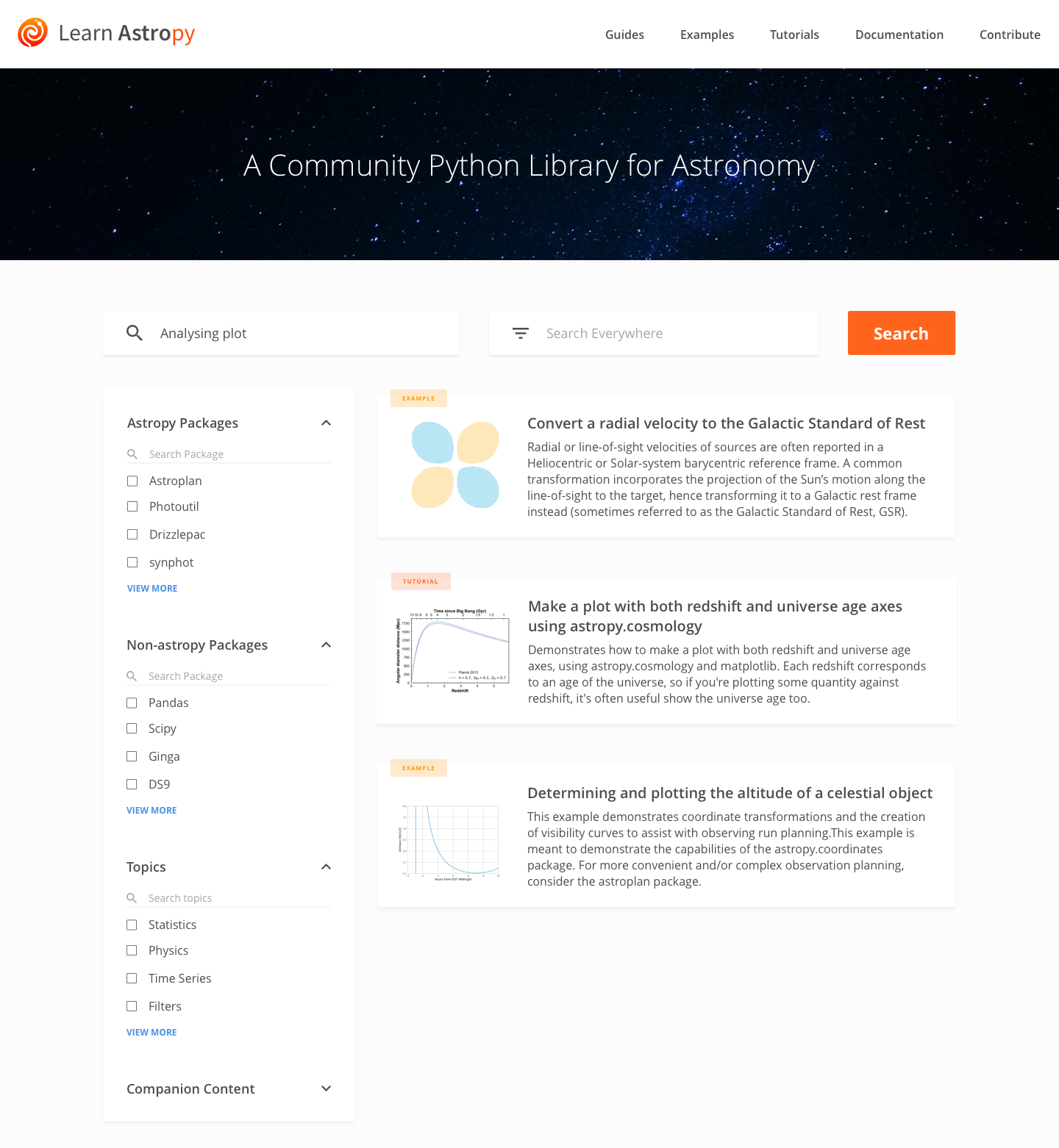 Make a mockup of a new Astropy Learn website · Issue #200 · astropy