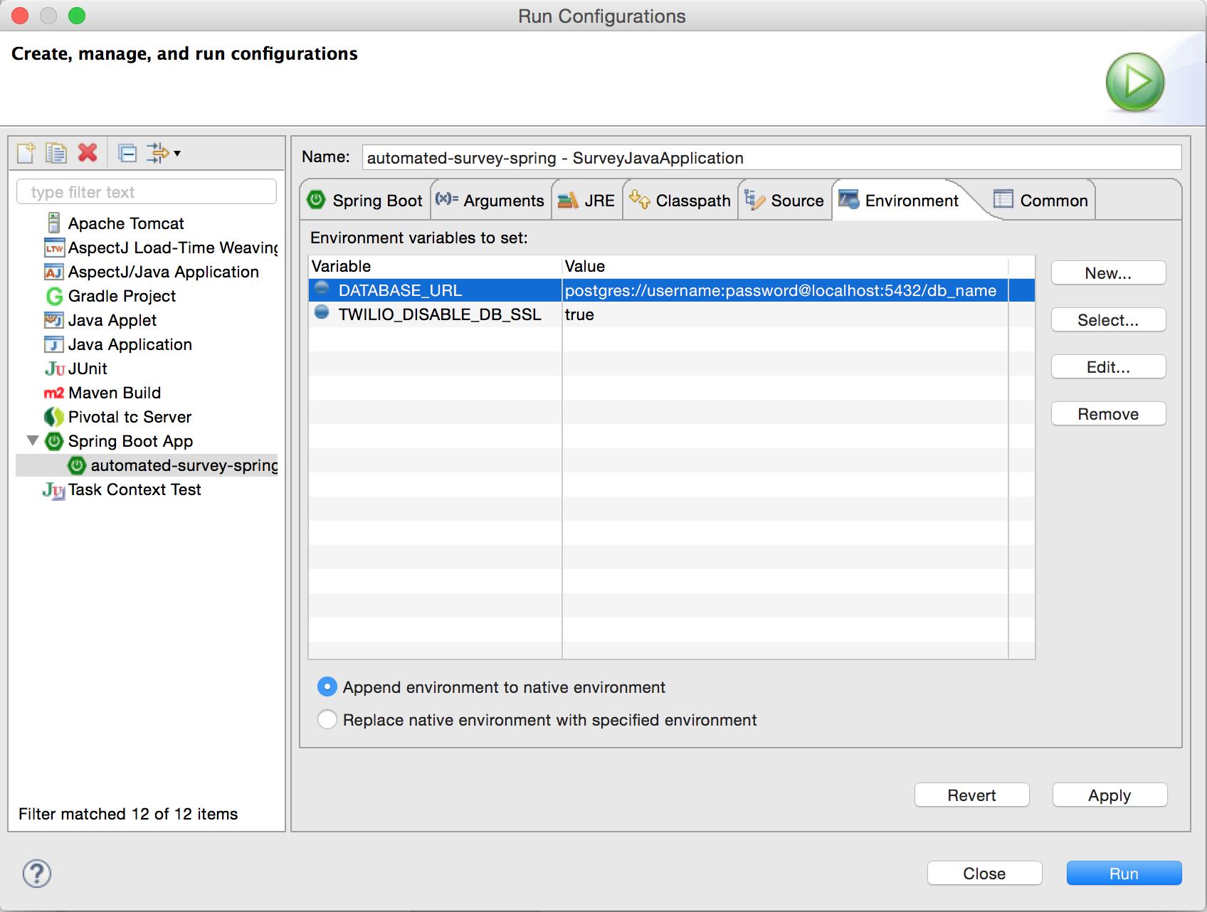Java Questionnaire Code