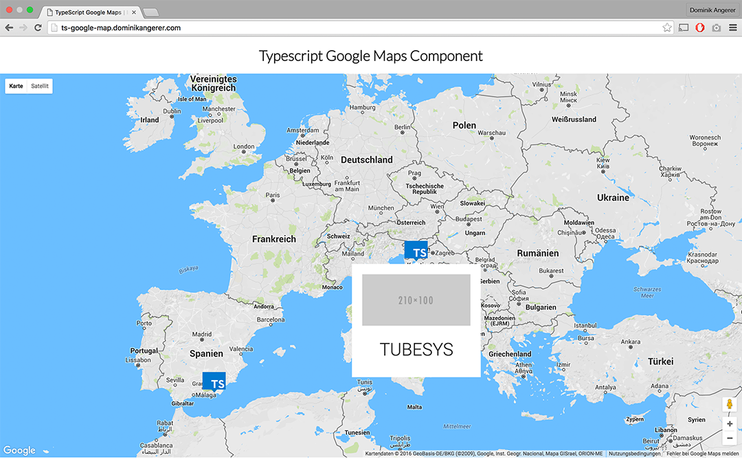 GitHub DominikAngerertypescriptgooglemaps Simple Typescript - Sweden map google