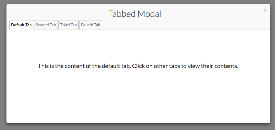 GitHub - seanhuber/bootstrap-tab-modal: A jQuery widget for