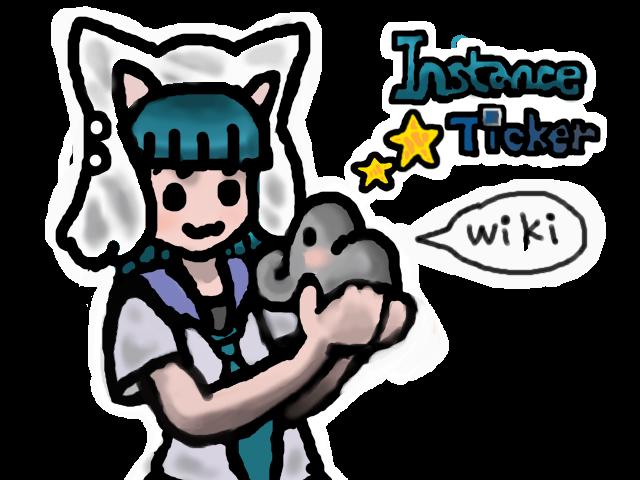 InstanceTicker Wiki タイトルデザイン案(1)