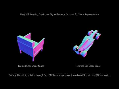 DeepSDF Video