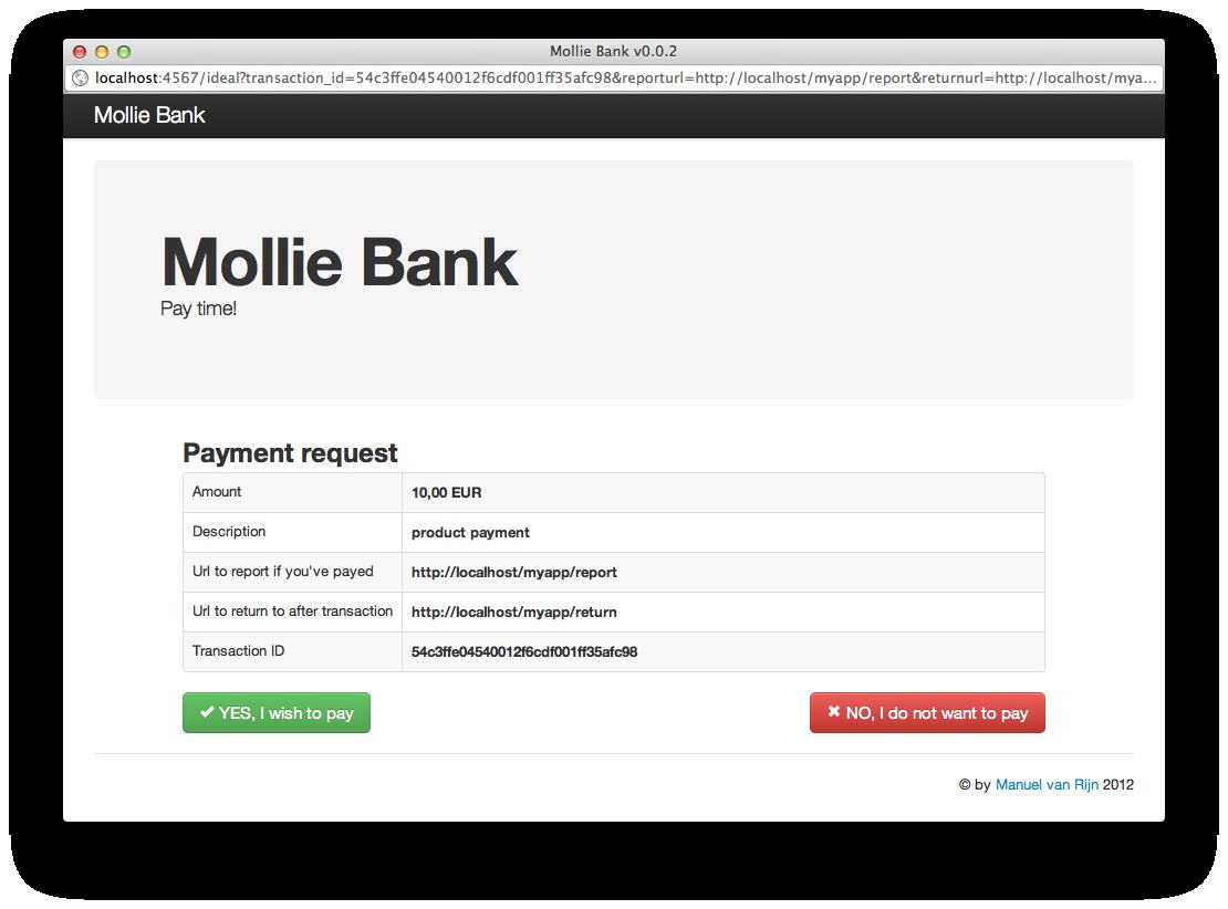 Mollie Bank