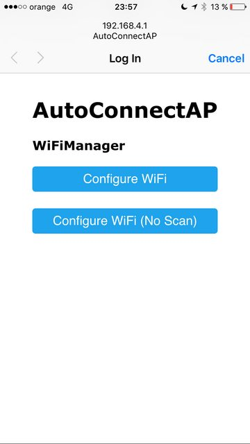 GitHub - tzapu/WiFiManager: ESP8266 WiFi Connection manager