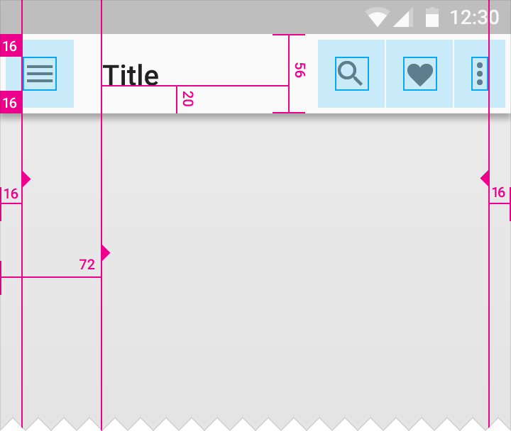 Appbar] Horizontal spacing · Issue #7517 · mui-org/material