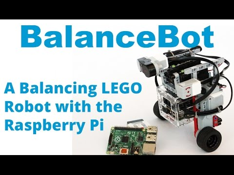 LEGO Mindstorms, BrickPi, Raspberry Pi és Python egyben