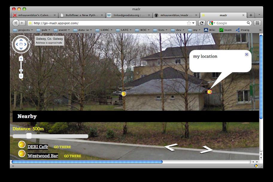 madr desktop screen shot
