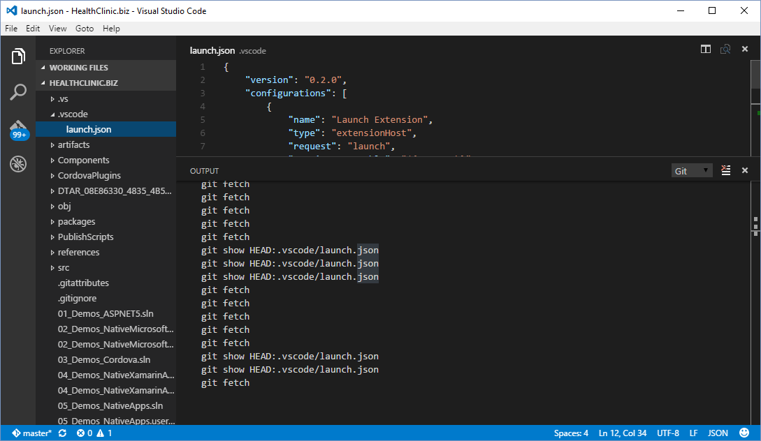 Build cloud apps with Visual Studio Code · microsoft/HealthClinic