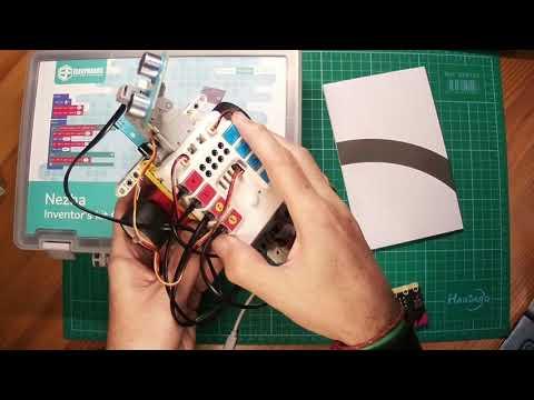 Vídeo: Proyecto sencillo con Nezha Inventor's Kit para micro:bit de Electrofreaks con bloques de MakeCode