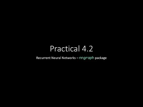 Practical 4.2 - nngraph package