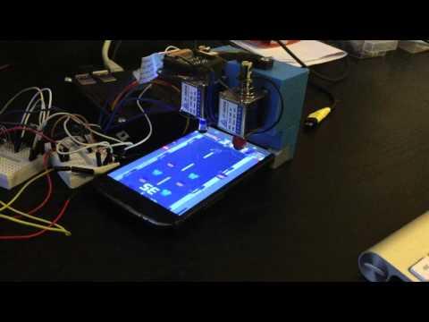 Raspberry Pi playing ZomBuster