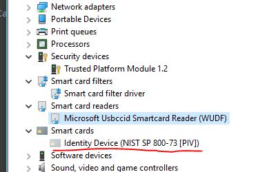 smartcard missing