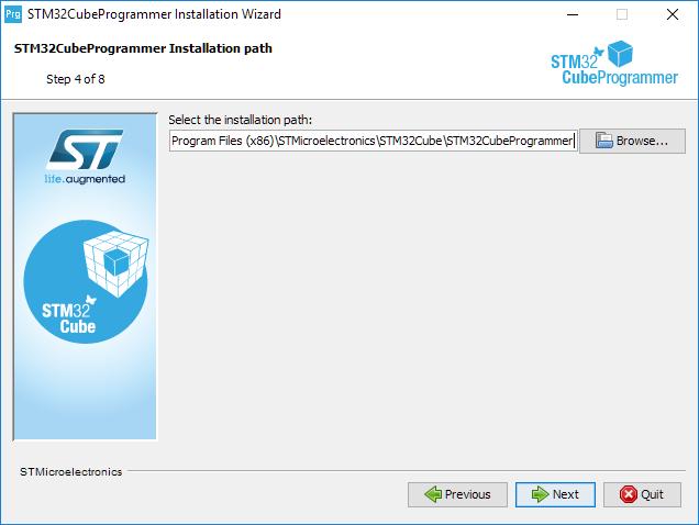 Install programmer step 4