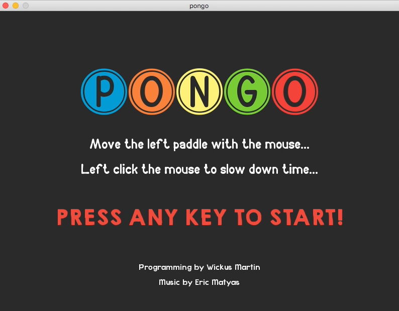 GitHub - machinetech/pongo: A Pong game written in the Rust